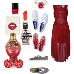 """Red Taylor Swift"" by cierafredhoney on Polyvore"