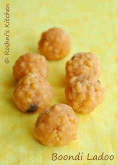 Roshni's Kitchen: Boondi Ladoo - Diwali Sweet - Step by Step recipe - Vegan, Gluten Free - It is easier than you think!