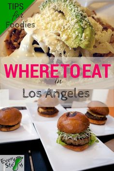 Where to eat in Los Angeles? It's hard to say, as LA is heaven for foodies. Here are 10 of the best places where to eat in Los Angeles, California. Los Angeles Restaurants, Los Angeles Food, Best Restaurants In La, Disneyland, Best Places To Eat, Travel Usa, Travel Pics, Travel Advice, Travel Guides