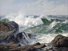 Charles Vickery (title unknown), 36x48 ins, oil on canvas