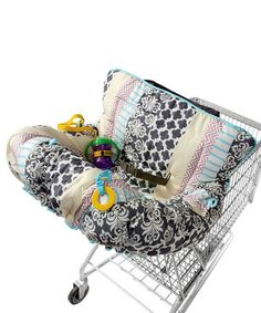 shopping cart cover! Want to do toys amd pillow so it's more fun and comfy!