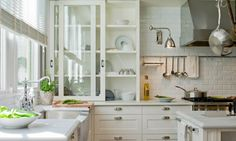 love the sliding glass doors on the cabinet as well as the drawers.