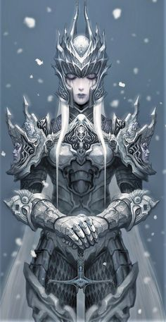 FORTALEZA Fantasy Armor, Medieval Fantasy, Dark Fantasy Art, Fantasy Inspiration, Character Inspiration, Character Art, Character Concept, Female Armor, Female Knight