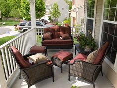 Charming 8 Front Porch Patio Furniture Images @ Http://www.PatioFurnitureImages.com