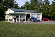 1000 images about garage ideas on pinterest pole barns for Morton building with basement