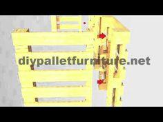 Mueblesdepalets.net: Instrucciones de como hacer un escritorio para oficina con palets