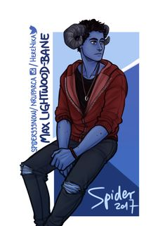 Max Lightwood-Bane, grown up ... From spidernow999 ... max lightwood bane, blueberry, the mortal instruments, little one