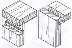 Técnicas de marcenaria: Encaixes em madeira Mais