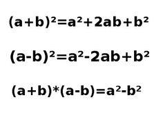 #Mathematik Online #Nachhilfe #Binomische Formeln