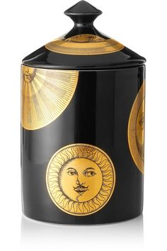 Fornasetti Sun and Moon Thyme, Lavender and Cedarwood scented candle £125