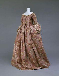 Robe à la Française (image 3) | French | 1750-75 | silk | Metropolitan Museum of Art | Accession Number: C.I.59.29.1a, b