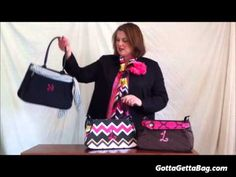 The bag with multiple personalities...the Initials, Inc. SASSYbag 180. $40. GottaGettaBag.com