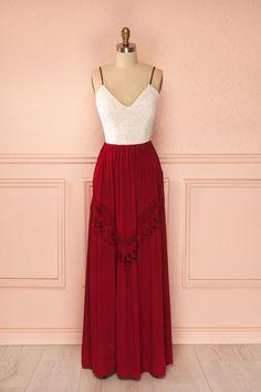 Spaghetti Prom Dress,Deep V Neck Prom Dress,Red Dress,Fashion