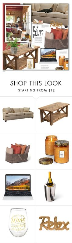 """""""My Happy Place"""" by jgee67 ❤ liked on Polyvore featuring interior, interiors, interior design, home, home decor, interior decorating, Hickory Chair Furniture, Voluspa, INC International Concepts and Frontgate"""