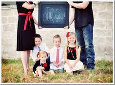 Cute for family photo idea
