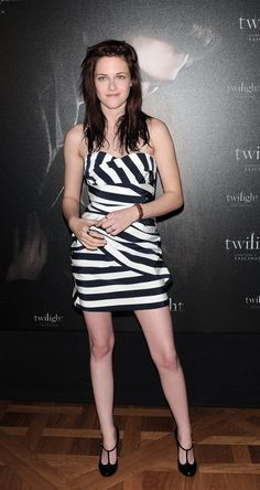 Kristen Stewart and Camilla & Marc Marsha Frock Photograph