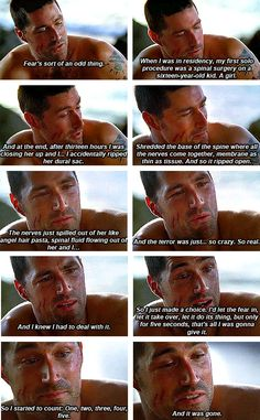 Lost astounds with its profundity right from the beginning. I love this show, I love these characters, I love Jack. Lets Get Lost, Im Lost, Lost Love, My Love, Lost Quotes, Lost Memes, Serie Lost, Lost Tv Show, Matthew Fox