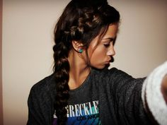 How to make dutch braid / inverted french braids. How to make dutch braid / inverted french braids. Dutch Braid Hair TutorialMohawk Dutch Braid by SweHow to Dutch Braid Video Inverted French Braid, Two French Braids, French Hair, Dutch Braids, Two Braid Hairstyles, Permed Hairstyles, Sporty Hairstyles, Cute Volleyball Hairstyles, Athletic Hairstyles