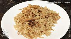 Arroz Griego o arroz con cebolla/recetasdepuertorico