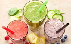 "Join 11 people right now at ""The Best Detox Smoothie Ingredients For Instant Weight Loss, According To Nutritionists"" Healthy Food Swaps, Healthy Drinks, Healthy Snacks, Healthy Recipes, Healthy Breakfasts, Smoothie Detox, Workout Smoothie, Yummy Smoothies, Smoothie Recipes"