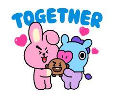 Sanrio Characters, Fictional Characters, Line Sticker, Smurfs, Hello Kitty, Alphabet, Gifs, Kawaii, Animation