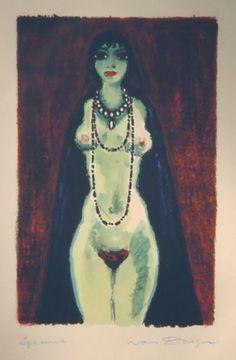 Kees Van Dogen. La_Princesse_de_Babylone_1948