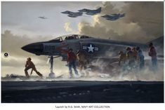 Muddy Colors: R. Smith, the John Singer Sargent of Aviation Art