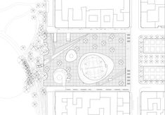 Image 1 of 8 from gallery of Israels Plads Square / Cobe + Sweco Architects. Photograph by Rasmus Hjortshøj - COAST Masterplan Architecture, Architecture Plan, Landscape Architecture, Israel, Plaza Design, Copenhagen City, Plan Drawing, Concept Diagram, Human Connection