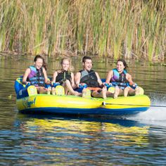 Delta3 Boat Towable Delta Wing Design 3 Person Staggered Seating Tube Cool Boats, Small Boats, Boat Tubes, Delta Wing, Water Tube, Wings Design, Rafting, The Great Outdoors, Sun Lounger