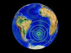 6/17/2015 -- Large M7.0 earthquake strikes Mid-Atlantic Ridge -- Three Volcanoes Erupt in Asia - YouTube