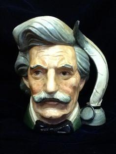 Mark Twain Sam Clemens  Royal Doulton  Toby Mug Jug 6654