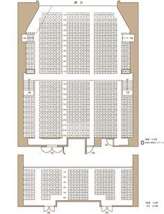サンシャイン劇場 座席表