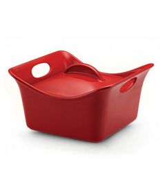 Take a look at this Red 3.5-Qt. Covered Square Dish by Rachael Ray on #zulily today!