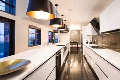 Look at those lines! Contemporary, Urban luxury home design inspiration! Hoxton Homes - Butterfly Showhome now building in WestPointe of Windermere Beautiful Home Designs, Beautiful Homes, Interior Inspiration, Design Inspiration, Windermere, Luxury Homes, Architecture Design