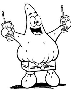 find this pin and more on mlarbilder printable cartoon spongebob patrick squarepants coloring pages