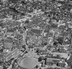 City centre in 1953