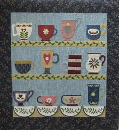 (7) Name: 'Quilting : Country Cups