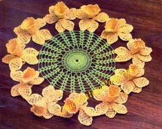Crochet Doily ... African Violet Ruffle by ChicVintagePatterns