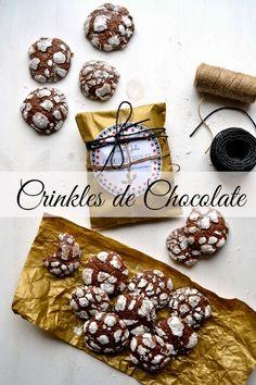 Sweet Gula: Crinkles de Chocolate