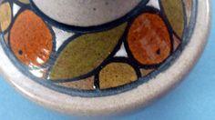 Rarer & Harder to Find Pattern: 1970s POOLE POTTERY Vase OLYMPUS Oranges Pattern