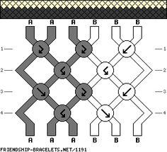6 Strands, 3 Colors, – friendship-bracel… – Made w/ A= brown, … – Diy Bracelets İdeas. Diy Friendship Bracelets Patterns, Bracelets With Meaning, Diy Bracelets Easy, Bracelet Crafts, Embroidery Floss Bracelets, Thread Bracelets, Woven Bracelets, Diamond Bracelets, Learn Embroidery