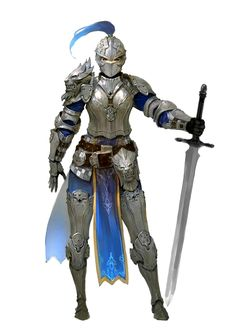 Female Human Fighter Cavalier Knight - Pathfinder PFRPG DND D&D 3.5 5th ed d20 fantasy