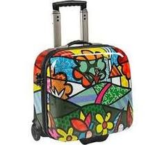 Image result for Set Luggage with Flowers!