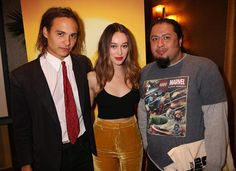 Frank Dillane left Alycia Debnam-Carey and I at the #FearTWD press day. http://ift.tt/1MRTm4L