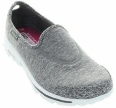 Skechers Women's Go Walk Interval Fashion Sneaker,Grey,7.5 M US
