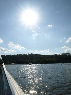 Allatoona Lake, Georgia- I can't wait to get the boat back out!