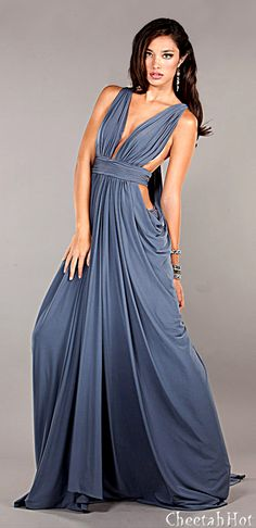 JOVANI - Draped Style Gown