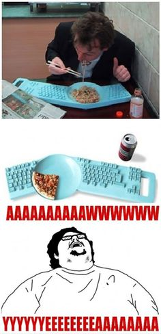 Keyboard/Plate combo swetet jesus it exsists