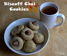 This and that: Fill the Cookie Jar with Biscoff Chai Cookies  | www.marlys-thisandthat.blogspot.com  #fillthecookiejar