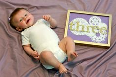 Monthly Photo Idea- Babies first year